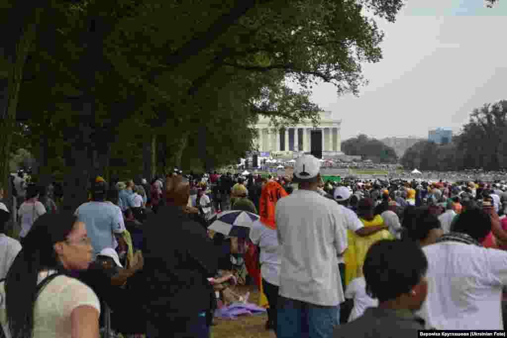 Вашингтонські мітингувальники. ФОТО