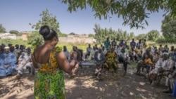 Campagne d'aide aux déplacés à Ouagadougou