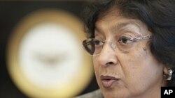 Birleşmiş Milletler İnsan Hakları Yüksek Komiseri Navi Pillay