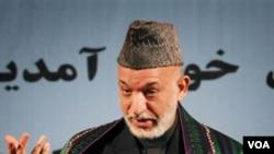 El presidente Hamid Karzai se había comprometido a contener la corrupción en su gobierno durante las elecciones.
