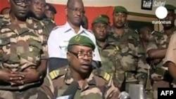 尼日尔军政府发言人周五在尼亚美宣读声明