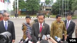 Presiden Joko Widodo enggan menanggapi penolakan hukuman mati dari Sekjen PBB Ban Kim-moon dan beberapa negara (foto dok.)