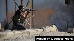 SDF Fighter in Ras al-in