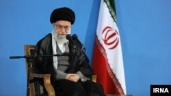 آیت الله علی خامنهای، رهبر جمهوری اسلامی ایران