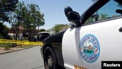 Sebuah mobil polisi di Mission Viejo, California (Fot: dok).