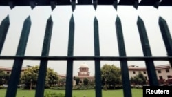 FILE - India's Supreme Court