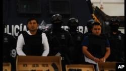 墨西哥警方經常對付販毒集團。