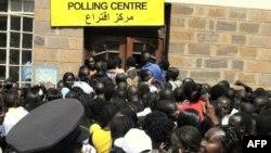 Cử tri Sudan xếp hàng đi bỏ phiếu, 9/1/2011