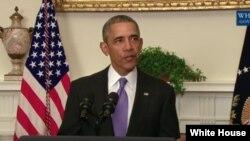 Barack Obama à la Maison Blanche, le 17 janvier 2016.