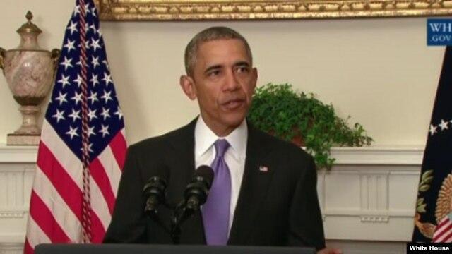 Президент США Барак Обама. Белый дом. Вашингтон. 17 января 2016 г.