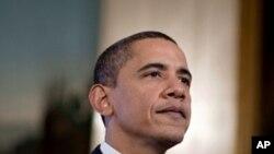 奥巴马发表每周例行讲话