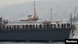 USS Ross у Стабулі