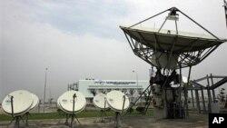 베트남 하타이의 인공위성 통제센터. (자료 사진)