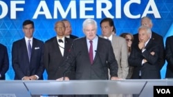 چندین سیاستمدار سرشناس آمریکایی در نشست «ایران آزاد» حضور داشتند.