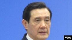 台湾总统马英九(美国之音 张佩芝拍摄)