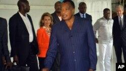 Perezida Denis Sassou N'Guesso k'umusi w'amatora