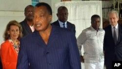 L'opposition conteste la réélection du President Denis Sassou N'Guesso.
