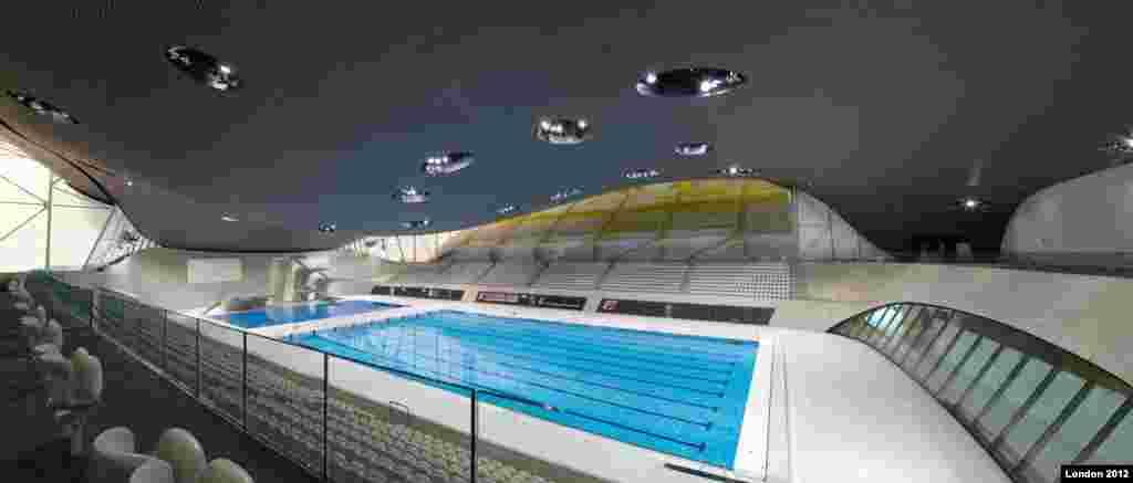 Aquatics venue (Photo: Steve Bates / London 2012)
