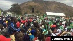 Zanu PF Rally Mutare