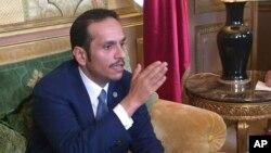 شیخ تمیم بن عبدالرحمن آل ثانی وزیر خارجه قطر - آرشیو