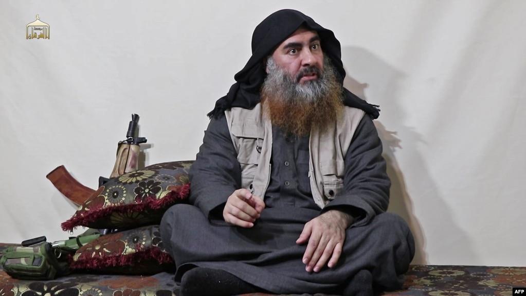 Thủ lĩnh nhóm Nhà nước Hồi giáo Abu Bakr al-Baghdadi.