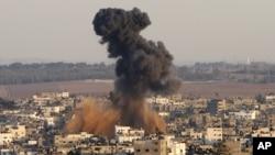 Ataque israelita contra Gaza