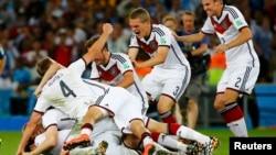 En Alemania, un récord de 34.56 millones de personas vieron el triunfo de su país en la Copa Mundial.