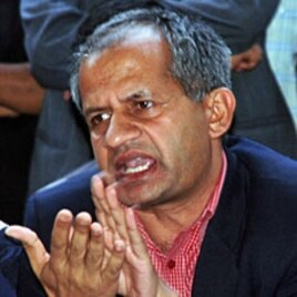 Fmr. Nepal Tourism Minister Pradeep Gyawali of the United Marxist-Leninist Party, 05 May 2010