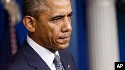 """""""Sabemos que estos separatistas han recibido armas pesadas, entrenamiento y armas antiaéreas de Rusia"""", afirmó el presidente Barack Obama."""