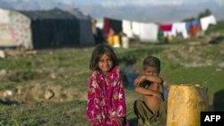 Trẻ em Afghanistan ở ngoại ô Kabul
