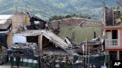 Serangan Pemberontak di Kolombia