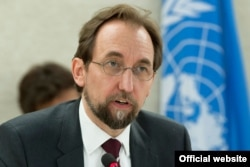联合国人权事务高级专员扎伊德•拉阿德•侯赛因