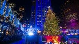 Pema e Krishtlindjeve në Nju Jork