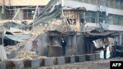 მაზარ-ი-შარიფში გერმანიის საკონსულოს, უსაფრთხოების კედელი თავდასხმის შემდეგ