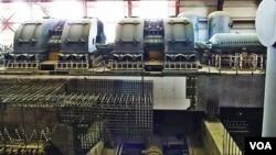 俄羅斯沃羅涅日核電站新建機組。沃羅涅日核電站新建機組與中國田灣核電站機組相似。沃羅涅日核電站的許多工程師也曾參與田灣核電站的建設。(美國之音白樺)