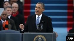 奧巴馬總統發表就職演說