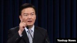 민경욱 청와대 대변인 (자료사진)
