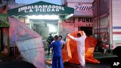墨西哥暴力罪案不斷。