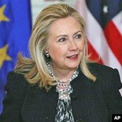 ລັດຖະມົນຕີການຕ່າງປະເທດ ສຫລ ທ່ານນາງ Hillary Clinton