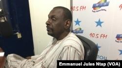 Maïdadi Seydou Yaya, membre bureau politique de l'UNDP au Cameroun, le 16 avril 2018. (VOA/Emmanuel Jules Ntap)