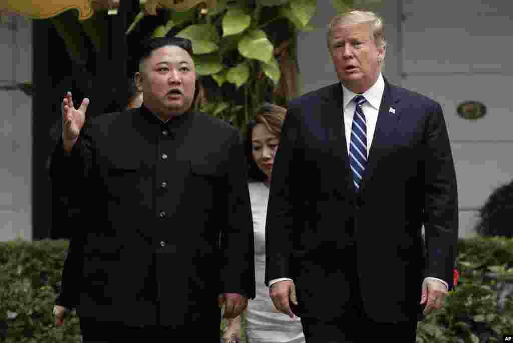 پرزیدنت ترامپ و کیم جونگ اون صبح پنجشنبه در هتل سافیتل هانوی پایتخت ویتنام با هم دوباره دیدار کردند. قرار است آنها یک ملاقات خصوصی با حضور مترجم با هم داشته باشند و بعد مشاوران به آنها اضافه شوند.