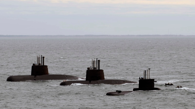 Voice of America, Navy: Argentine Submarine Missing with 44 Crew Members on Board