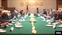 Afghan Peace Council Delegation