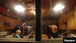 Keluarga pelaku poligami di Moab, Utah, AS.