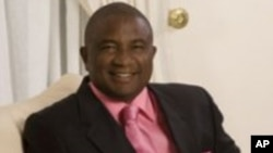 Zimbabwean businessman Phillip Chiyangwa vying for the ZIFA presidency.