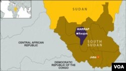 Warrap state in South Sudan has been the hardest hit by flooding, with more than 43,000 people impacted.