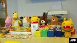 黄进容公司研发的其中一套幼儿教育材料