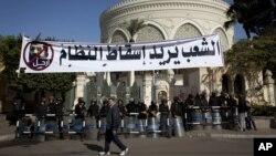 Dobro čuvana Predsednička palata u Kairu