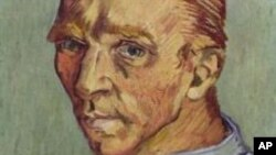 FILE - A self portrait by Vincent van Gogh.