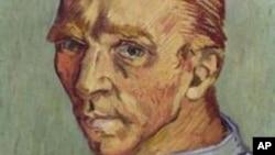 FILE - A self portrait by Vincent van Gogh.